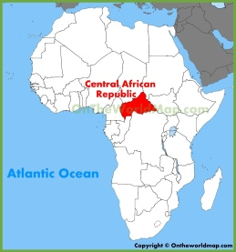 central-african-location-on-the-africa-map